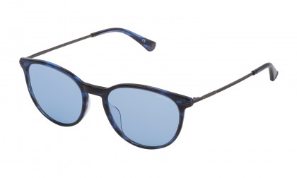 Police SPL474 09N4 Blue Striato Shiny - Blue Gradient