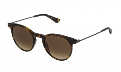 Police SPL571N 0722 Havana Dark Shiny - Brown Gradient