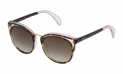 Police SPL642 09AX Havana Crystal - Brown Gradient