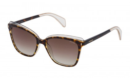 Police SPL643 09AX Havana Crystal - Brown Gradient