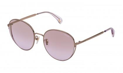 Police SPL834 8FFX Gold Grey Shiny - Pink Deg.Mirror Gold
