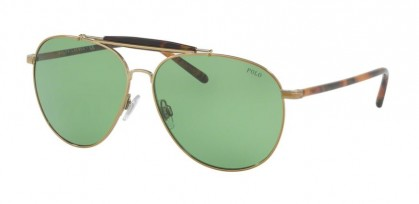 Polo Ralph Lauren 0PH3106 911671 Pale Gold - Vintage Green