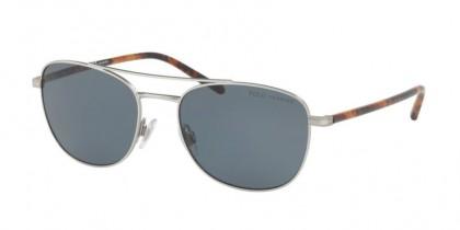Polo Ralph Lauren 0PH3107 932681 Aged Silver - Grey Polarized