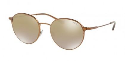 Polo Ralph Lauren 0PH3109 91576E Demishiny Bronze - Flash Brown Gold Mirror