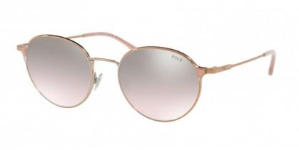 Polo Ralph Lauren 0PH3109 93298Z Shiny Rose Gold - Flash Pink Mirror
