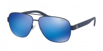 Polo Ralph Lauren 0PH3110 911925 Matte Navy Blue - Flash Blue