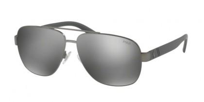Polo Ralph Lauren 0PH3110 91576G Demishiny Dark Gunmetal - Mirror Silver