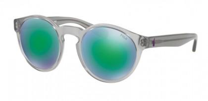 Polo Ralph Lauren 0PH4101 56493R Vintage Crystal Grey - Grey Mirror Green