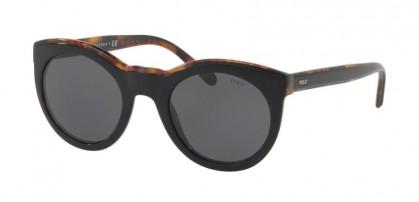 Polo Ralph Lauren 0PH4124 526087 Top Black on Havana Jerry - Dark Grey