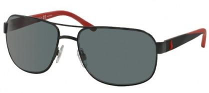 Polo Ralph Lauren 0PH3093 927781 Matte Black - Grey Polarized