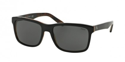 Polo Ralph Lauren 0PH4098 526087 Top Black on Jerry Tortoise - Gray