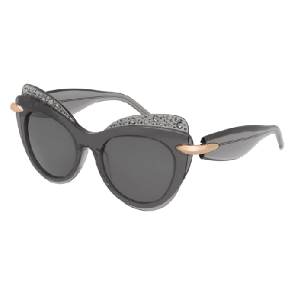 Pomellato PM0002S-007 Grey - Smoke