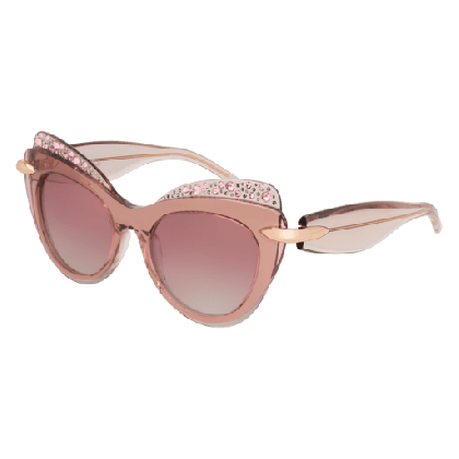 Pomellato PM0002S-009 Pink Nude - Red