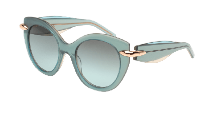 Pomellato PM0004S-002 Aquamarine - Grey Azure Shaded