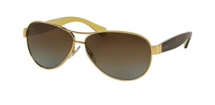 Ralph 0RA4096 106/T5 Gold - Brown Gradient Polarized