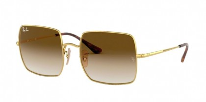 Ray Ban 0RB1971 914751 SQUARE Gold - Clear Gradient Brown
