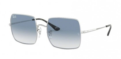 Ray Ban 0RB1971 91493F SQUARE Silver - Clear Gradient Blue