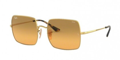 Ray Ban 0RB1971 9150AC SQUARE Gold - Photo Orange Gradient Brown