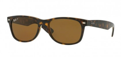 Ray-Ban 0RB2132 NEW WAYFARER 902/57 Tortoise - Crystal Brown Polarized
