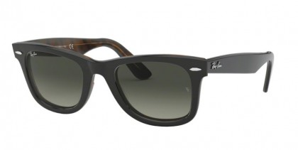 Ray Ban 0RB2140 127771 WAYFARER Top Grey On Havana - Grey Gradient