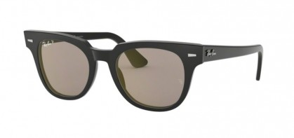 Ray Ban 0RB2168 901/P2 METEOR Black - Grey Polarized Mirror Gold