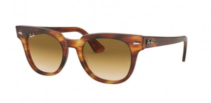 Ray Ban 0RB2168 954/51 METEOR Stripped Havana - Clear Gradient Brown