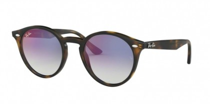 Ray Ban HIGHSTREET 0RB2180 710/X0  Havana - Gradient Blue Mirror Red