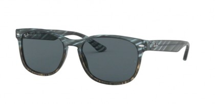 Ray Ban 0RB2184 1252R5  Blue Gradient Grey Stripped - Blue