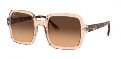 Ray-Ban 0RB2188 130143 Transparent Light Brown - Light Brown Gradient Black