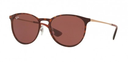 Ray Ban 0RB3539 913375 ERIKA METAL Havana - Dark Violet