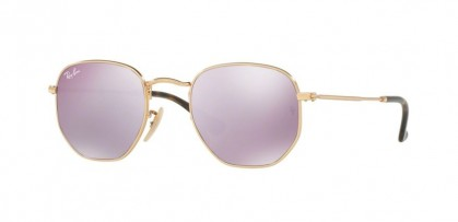 Ray Ban 0RB3548N 001/8O Gold - Wisteria Flash
