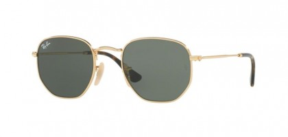 Ray Ban 0RB3548N 001 Gold - Green