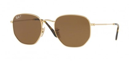 Ray Ban 0RB3548N 001/57 Gold - Brown Polarized
