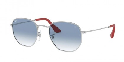 Ray Ban 0RB3548NM F0073F  Silver - Blue Gradient