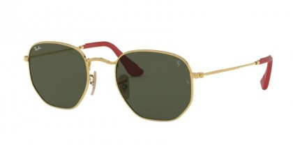 Ray Ban 0RB3548NM F00831  Gold - Green
