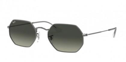 Ray Ban 0RB3556N 004/71 OCTAGONAL Gunmetal - Grey Gradient Dark Grey