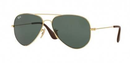 Ray Ban 0RB3558 001/71 Gold - Green