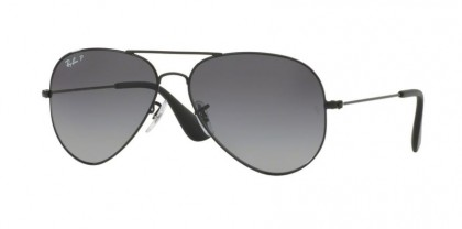Ray Ban 0RB3558 002/T3 Black - Grey Gradient Polarized