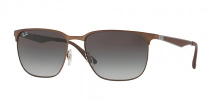 Ray Ban 0RB3569 121/11 Brown - Light Grey Gradient Dark Grey