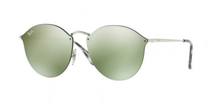 Ray Ban 0RB3574N 003/30 Silver - Dark Green Mirror Silver