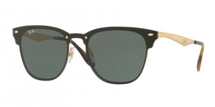Ray Ban 0RB3576N 043/71 Gold Striped - Gray Green