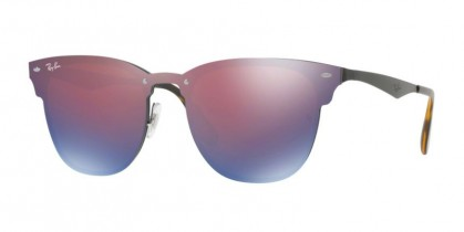 Ray Ban 0RB3576N 153/7V Black - Blue Violet Mirror