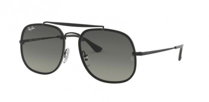 Ray Ban 0RB3583N 153/11  Demigloss Black - Light Grey Gradient Dark Grey