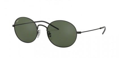Ray Ban 0RB3594 901471  Black Rubber - Green