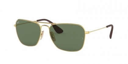 Ray Ban 0RB3610 001/71  Gold - Green