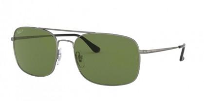 Ray Ban 0RB3611 029/O9  Matte Gunmetal - Polar Green