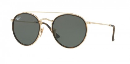 Ray Ban 0RB3647N 001 Gold - Green