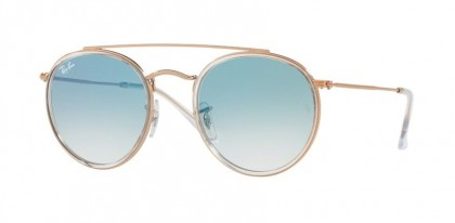 Ray Ban 0RB3647N 90683F Transparent - Clear Gradient Blue