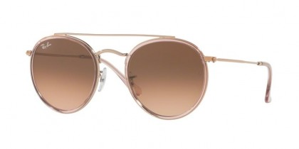 Ray Ban 0RB3647N 9069A5 Pink - Pink Gradient Brown
