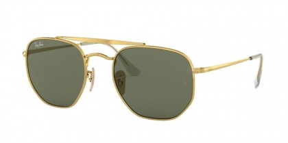 Ray-Ban 0RB3648 THE MARSHAL 001 54 Gold - Green